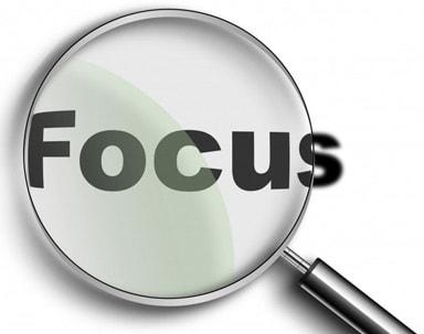 Meer focus krijgen
